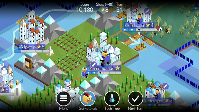 Battle of Polytopia iphone game