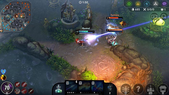 Vainglory Android game ScreenShot