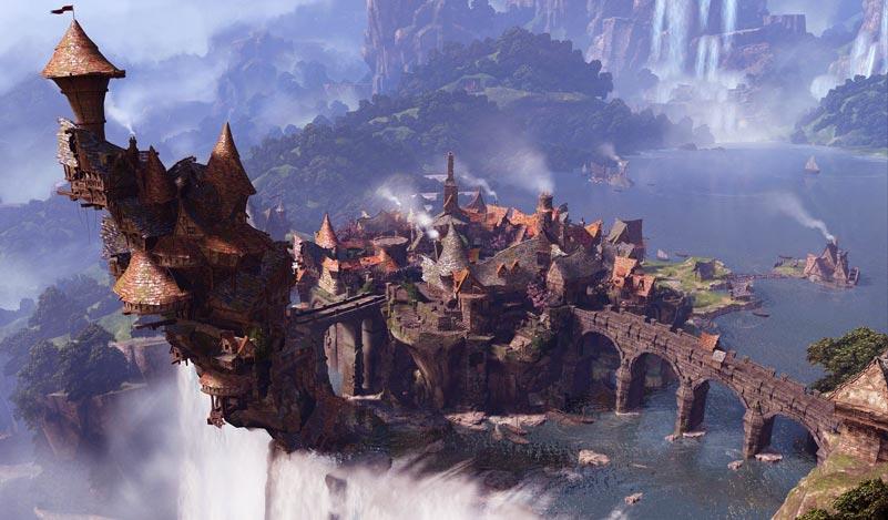 RPG world wallpaper